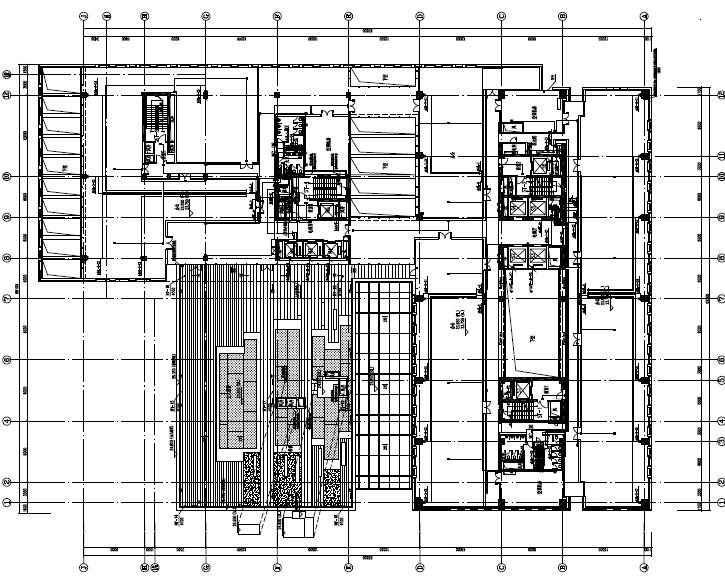 上海高层综合办公楼及商业裙房电气施工图