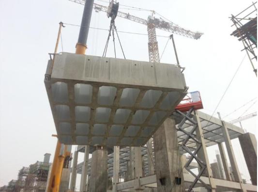 装配式混凝土框架结构施工安装关键技术研究