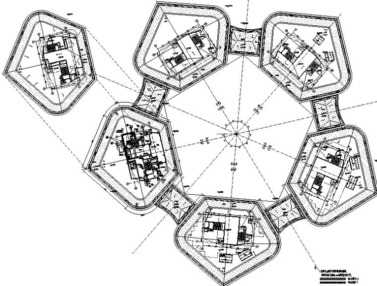 上海后滩新建办公楼及地下商业电气施工图