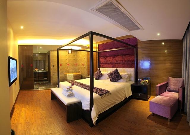 南充酒店设计|南充高端奢华酒店的设计—水