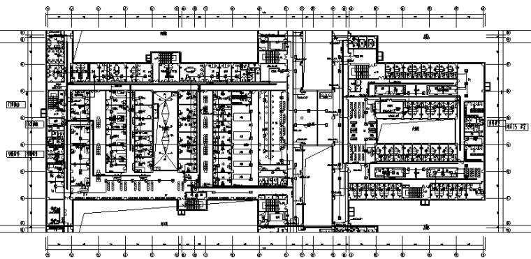 内蒙古新建三甲医院工程强弱电施工图