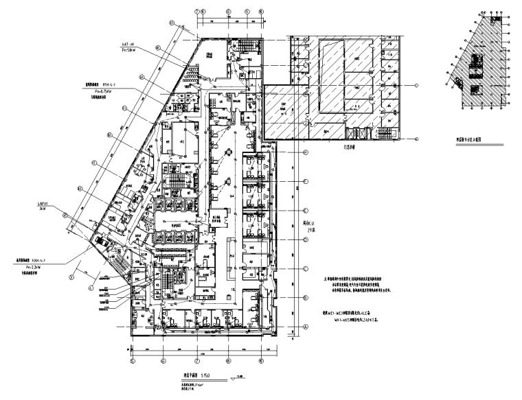 湖南某医院新建医疗综合楼电气施工图