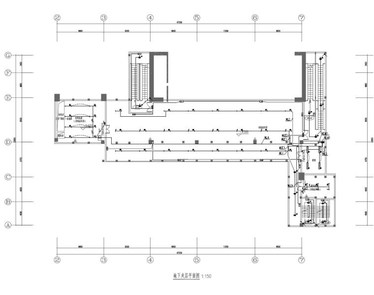 [知名院]吉林产业基地办公塔楼电气施工图