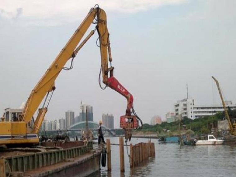 降低深基坑钢板桩围堰渗漏量QC成果
