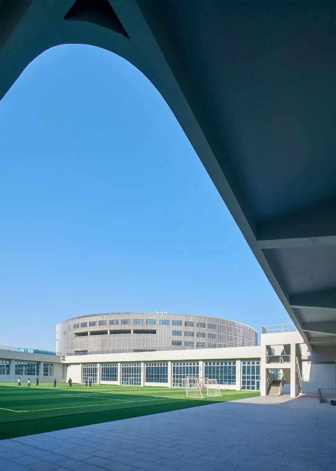 北京十一学校崂山分校:意象、原形、展示_10