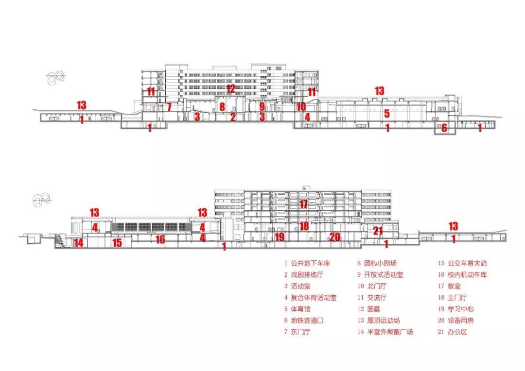北京十一学校崂山分校:意象、原形、展示_40