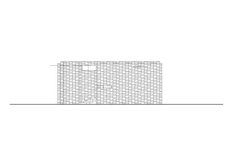 特色建筑小品带厕所功能建筑施工图