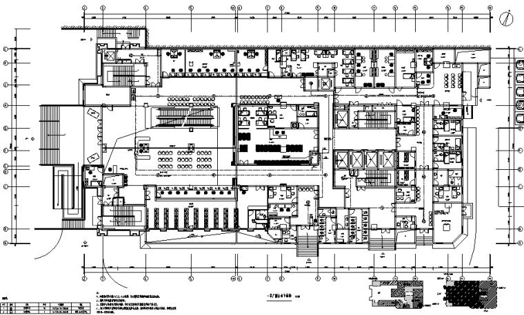 重庆中医医院弱电智能化施工图纸
