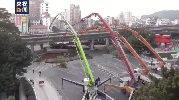 塌陷原因初步确定,广州地铁11号线全线停工