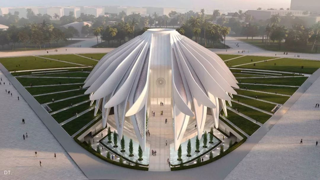 2020迪拜世博会,最新各国展馆建筑设计赏析_9