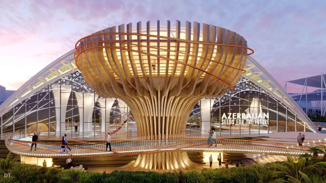 2020迪拜世博会,最新各国展馆建筑设计赏析_15