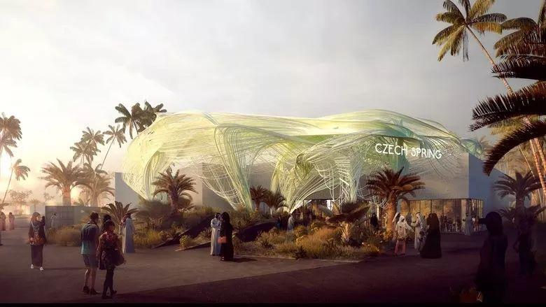 2020迪拜世博会,最新各国展馆建筑设计赏析_25