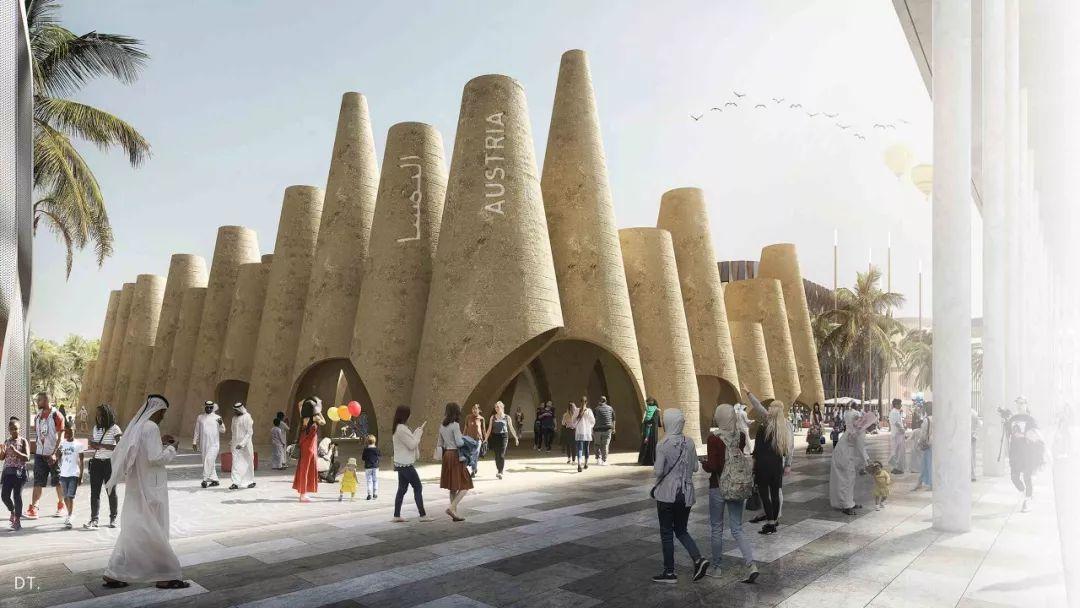 2020迪拜世博会,最新各国展馆建筑设计赏析_18