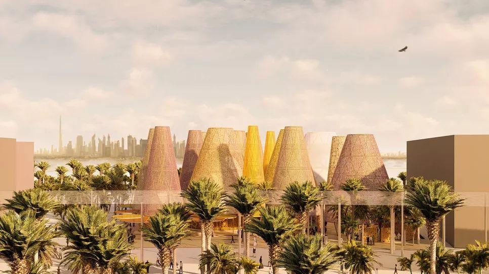 2020迪拜世博会,最新各国展馆建筑设计赏析_34