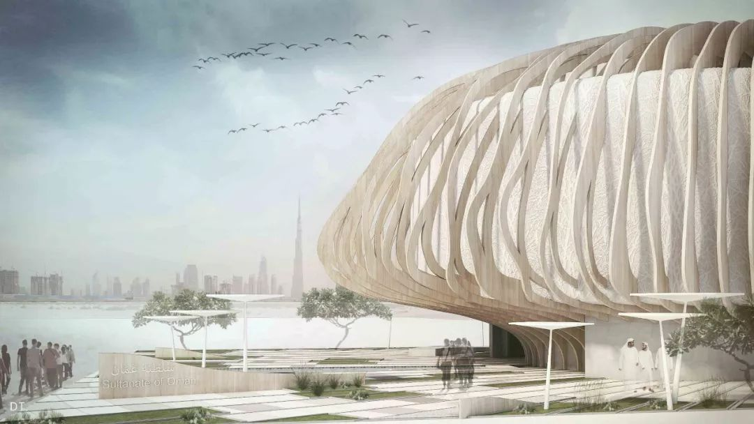 2020迪拜世博会,最新各国展馆建筑设计赏析_31
