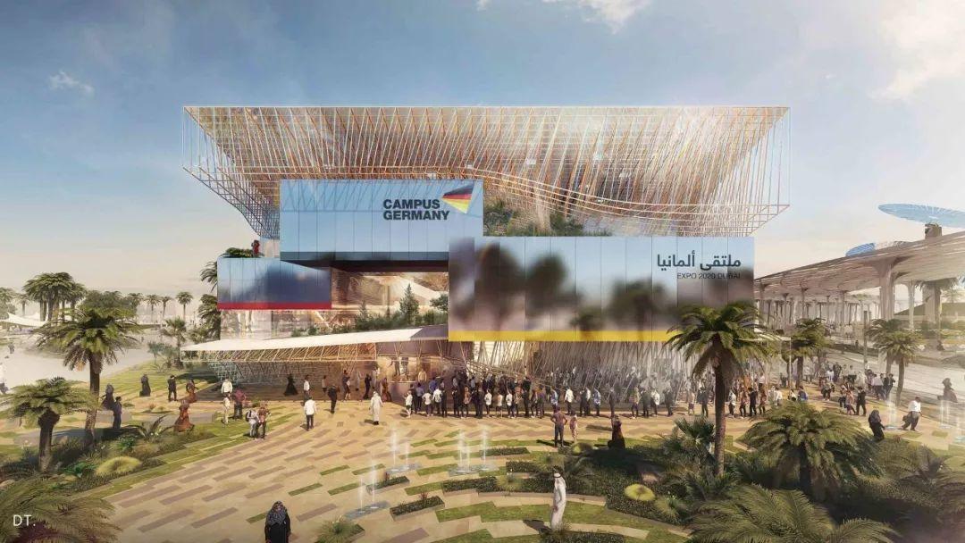 2020迪拜世博会,最新各国展馆建筑设计赏析_43