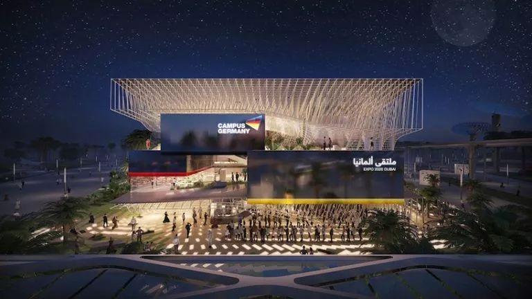 2020迪拜世博会,最新各国展馆建筑设计赏析_42