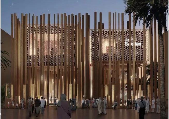 2020迪拜世博会,最新各国展馆建筑设计赏析_53