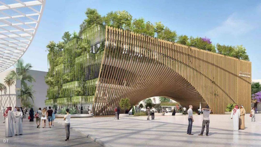 2020迪拜世博会,最新各国展馆建筑设计赏析_60