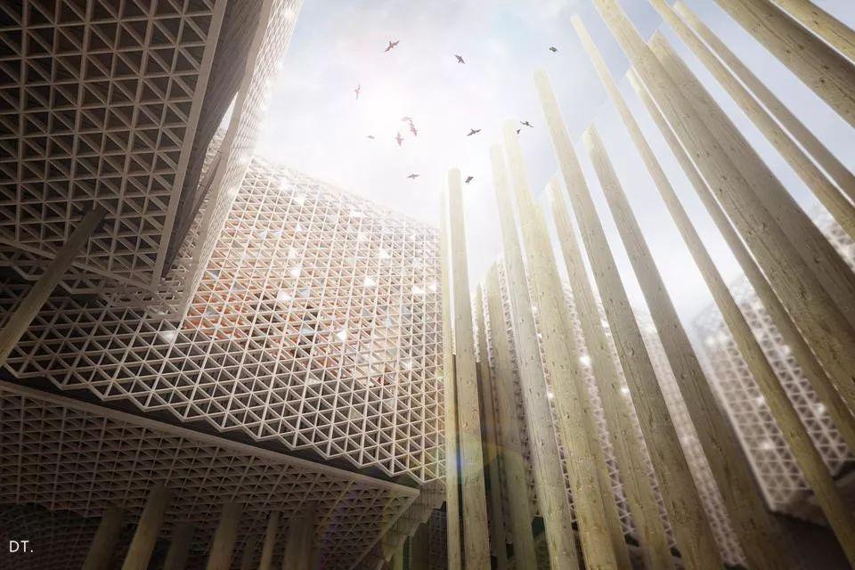 2020迪拜世博会,最新各国展馆建筑设计赏析_55