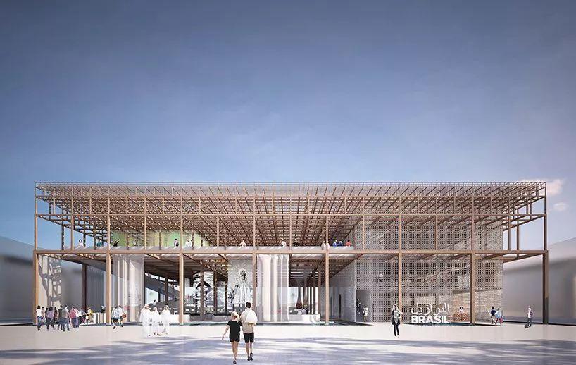 2020迪拜世博会,最新各国展馆建筑设计赏析_56