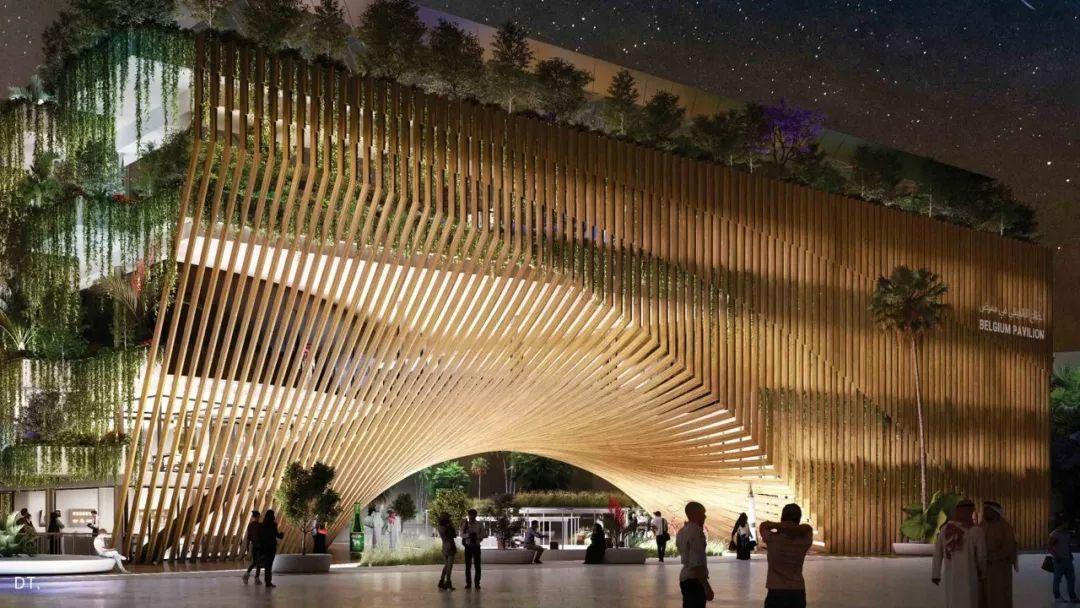 2020迪拜世博会,最新各国展馆建筑设计赏析_61