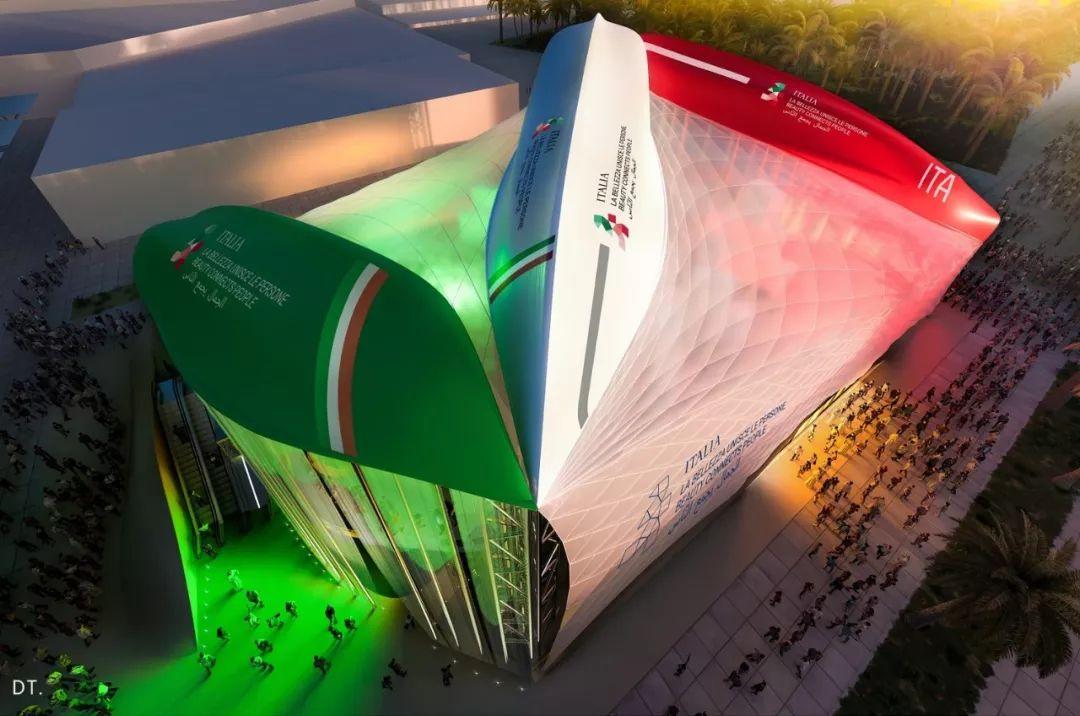 2020迪拜世博会,最新各国展馆建筑设计赏析_69