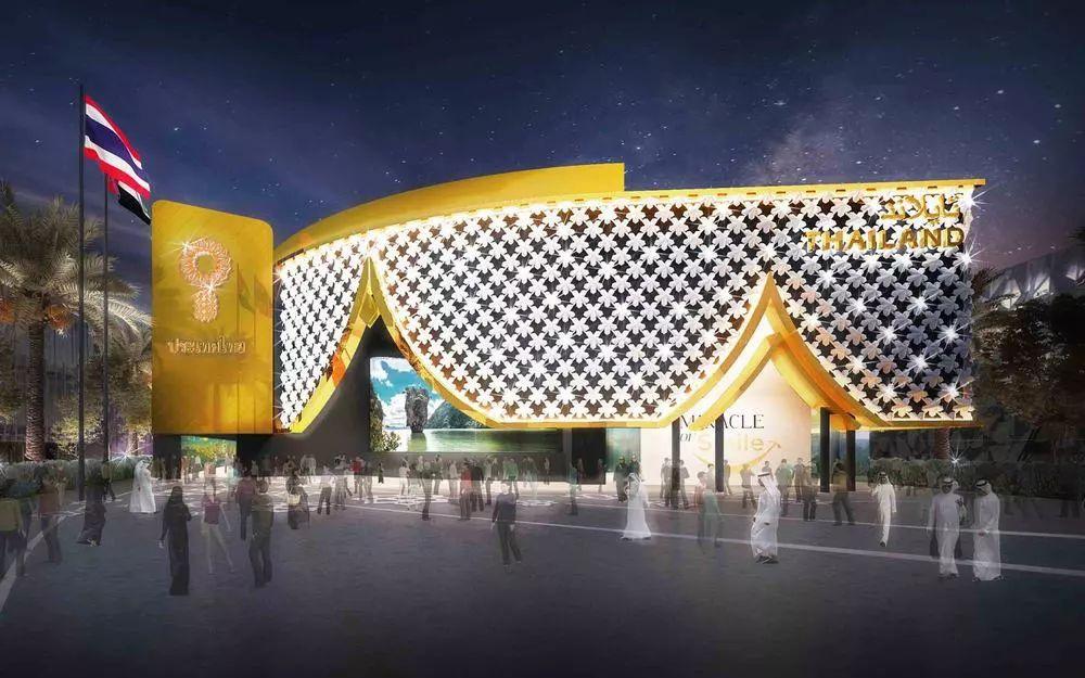 2020迪拜世博会,最新各国展馆建筑设计赏析_88