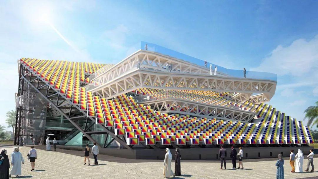 2020迪拜世博会,最新各国展馆建筑设计赏析_86