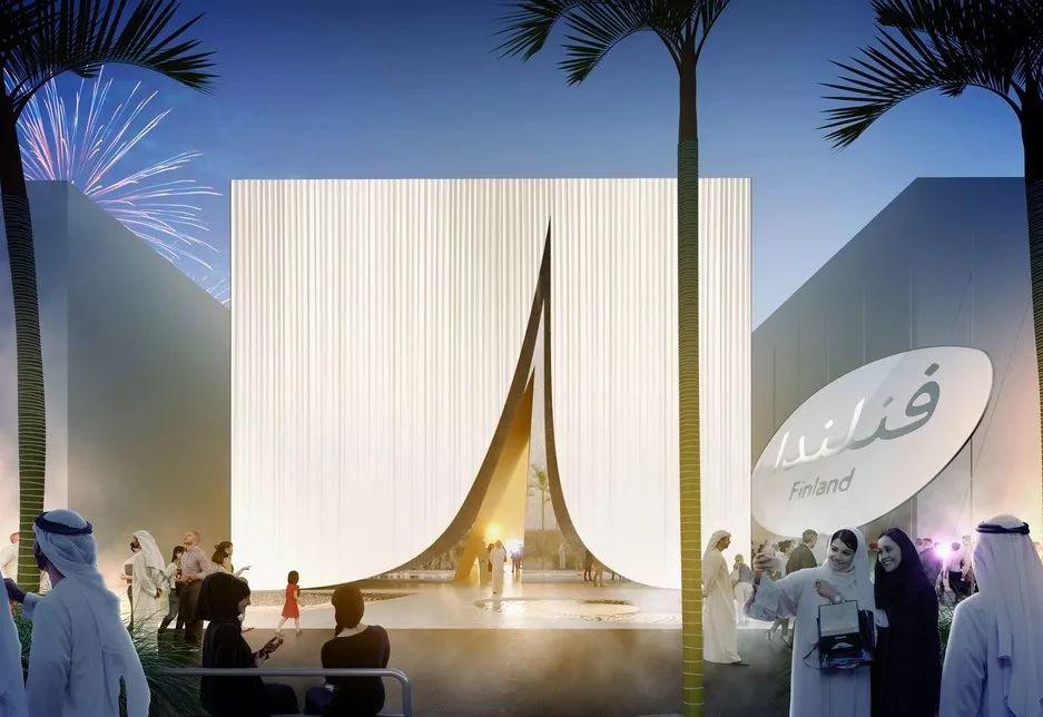 2020迪拜世博会,最新各国展馆建筑设计赏析_96