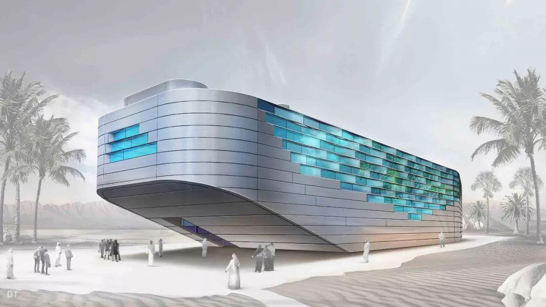 2020迪拜世博会,最新各国展馆建筑设计赏析_105