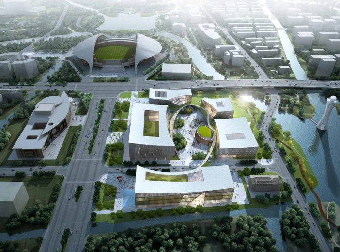 [浙江]嘉兴大型文化广场概念性方案设计文本