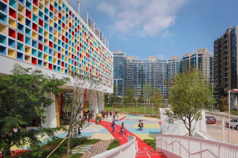 香港法国国际学校建筑设计