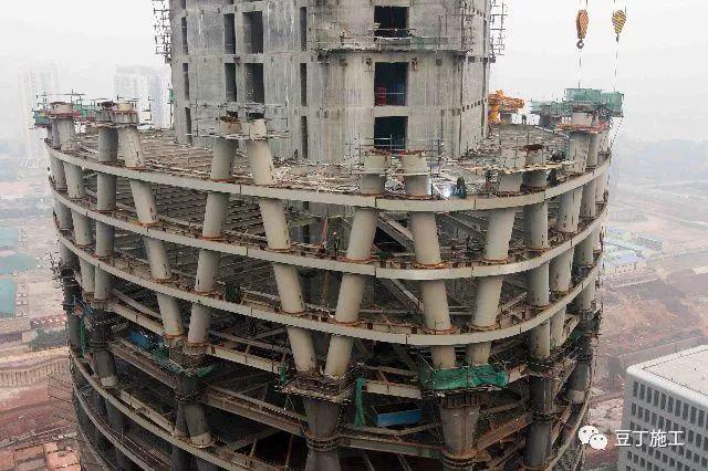 超高层建筑施工模板选择及施工工艺