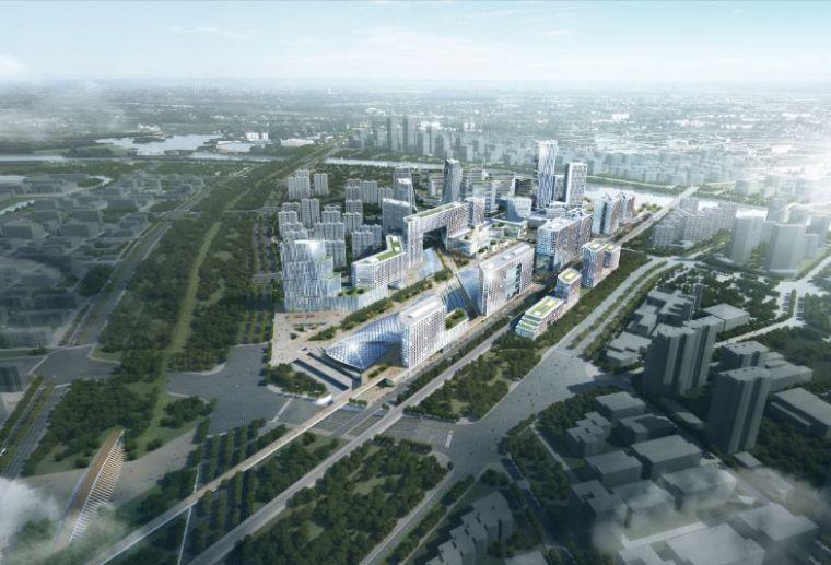 北京城市副中心站综合交通枢纽项目开工