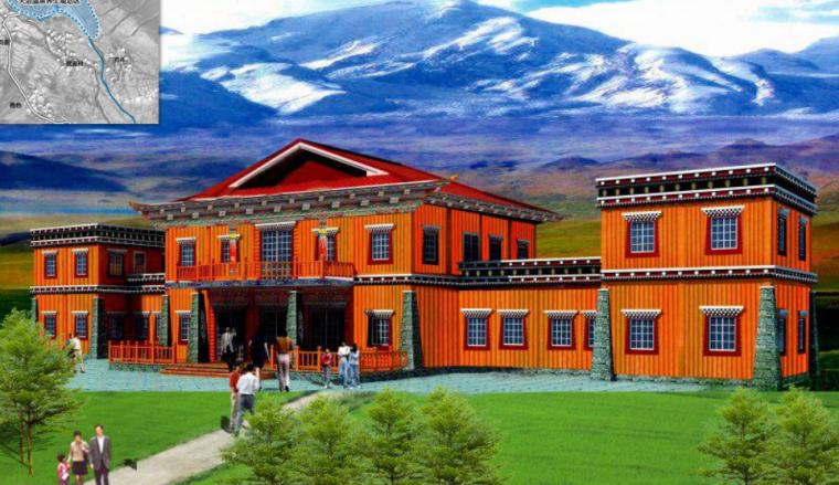 [四川]甘孜州某村旅游扶贫试点村庄规划