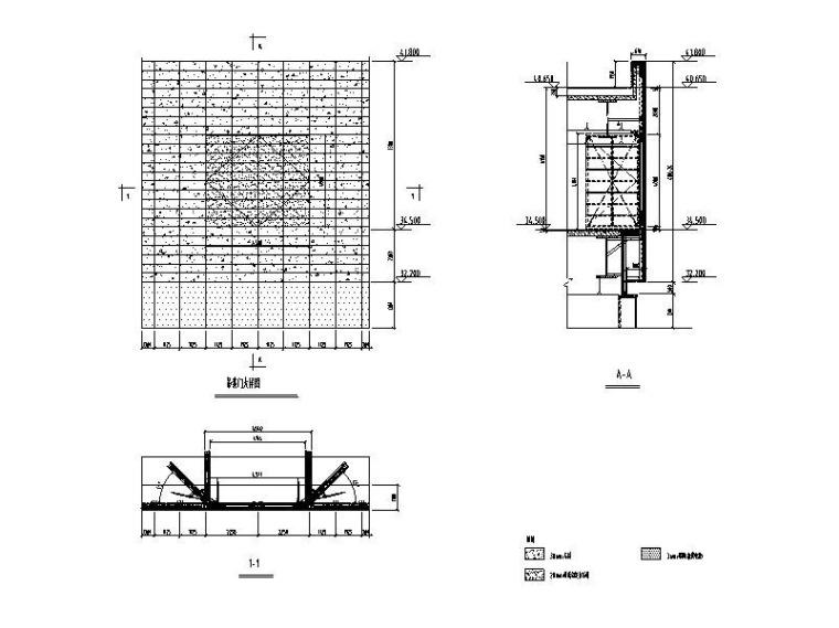 幕墙门窗标准系统节点图CAD