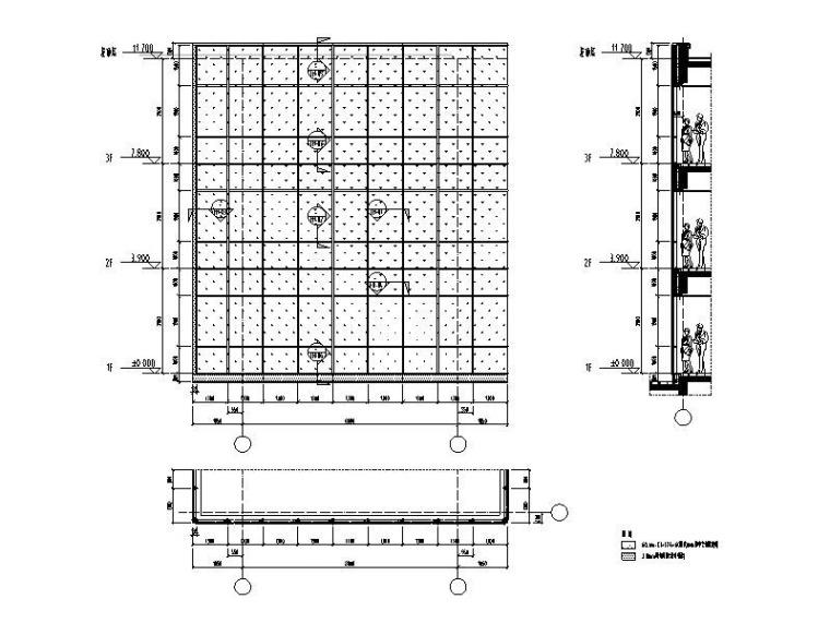 防火幕墙系统标准图(大样图及节点图)