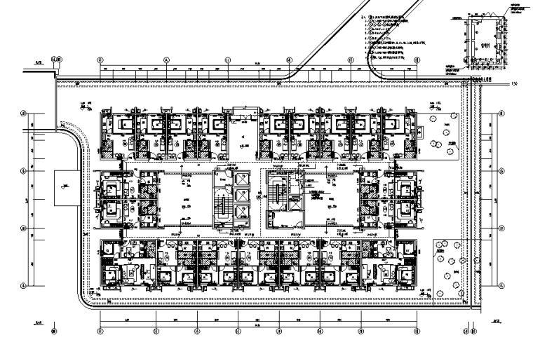 广东商业综合体办公及商业电气施工图