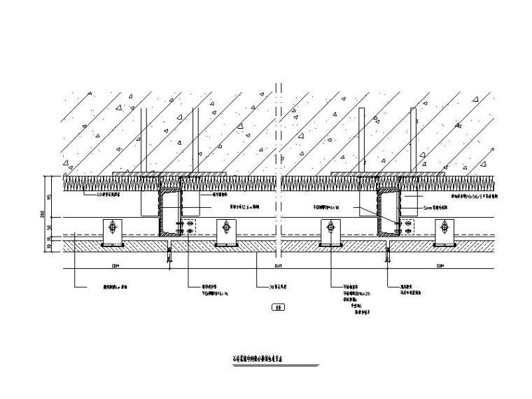 石材幕墙大样图及节点图CAD
