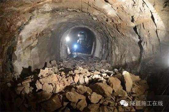 隧道断层开挖施工方法