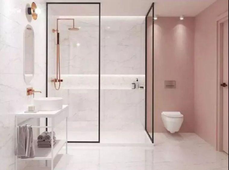 淋浴间施工细节防水处理卫生间超薄墙体做法