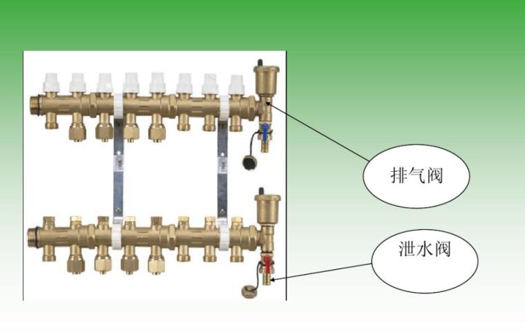 低温热水地板辐射采暖系统知识培训-分集水器