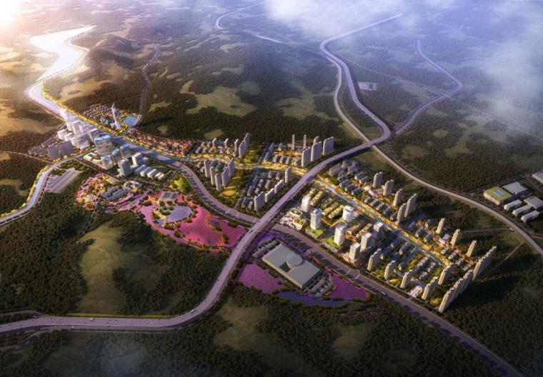 [山东]大连国际健康科技小镇概念总体规划二