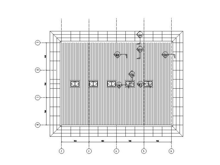 直立锁边铝镁锰合金板平面