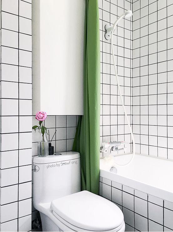 2㎡卫生间也要塞浴缸!35㎡小家也能任性装_39