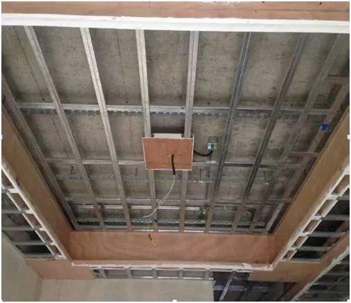 吊顶工程施工工艺样板指引,非常实用!