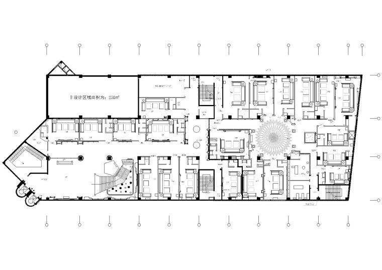 [福州]冠发夜总会室内装饰施工图+效果图