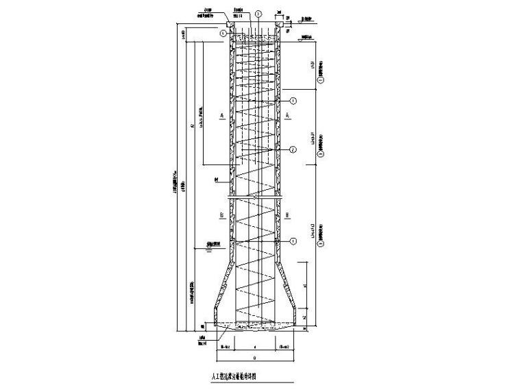 人工挖孔灌注桩设计说明、独立基础设计说明