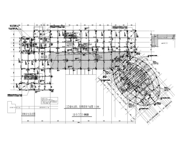 民族师范学院科技楼建筑暖通施工图